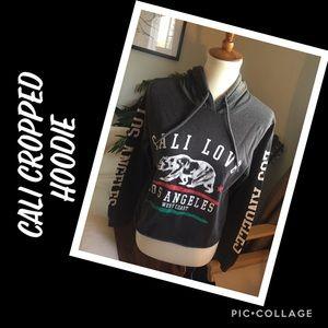 Cali Love Cropped Hoodie L